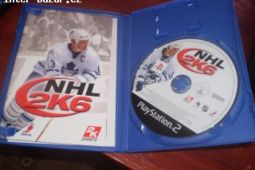 NHL 2K6 hra na PS2